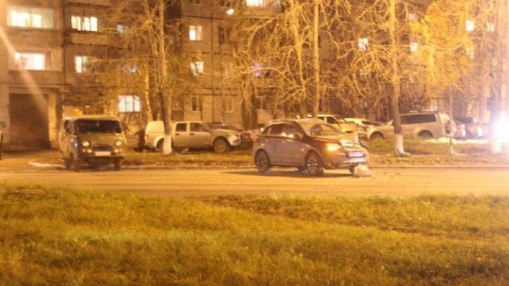 В Северодвинске пьяный водитель спровоцировал ДТП с «буханкой»