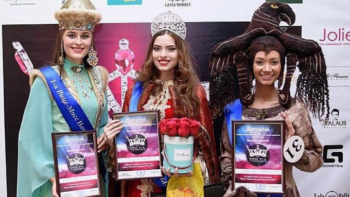 Ростовчанка победила в конкурсе национальных костюмов и получила титул на «Мисс Волга – 2017»