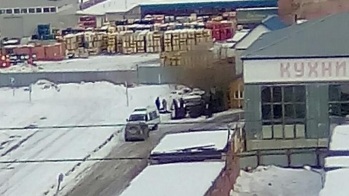 В мебельном цехе на Московском тракте скончался рабочий