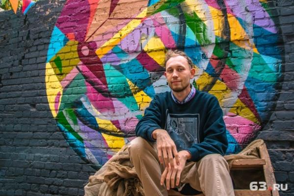 Художник уверен: у уличного искусства большое будущее