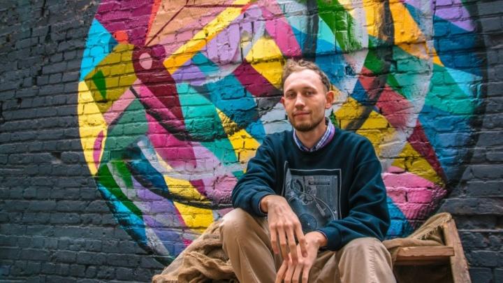 «Стрит-арт — это не вандализм»: уличный художник рассказал о работе в Самаре