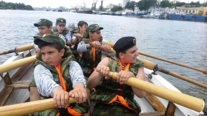 Ростовские курсанты поучаствовали в фестивале «Паруса России – 2017»
