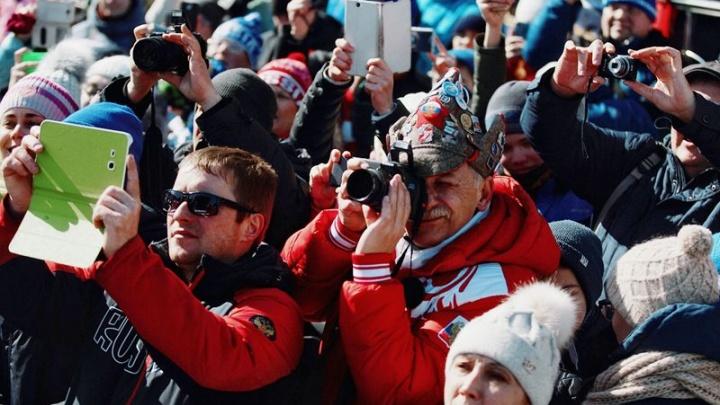 Биатлонные болельщики смогут добраться до «Жемчужины Сибири» на шаттлах за 100 рублей