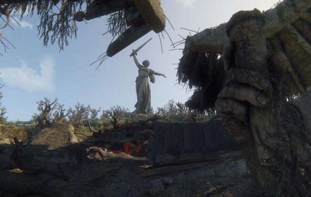 В онлайн-игре показали «Родину-мать» и Пантеон Славы после экологической катастрофы