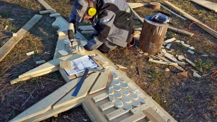 «Сборная Тайболы» построит «врата» в Кенозерском нацпарке