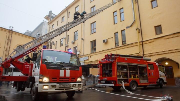 В Волгограде перед ЧМ-2018 потренировались тушить гостиницу
