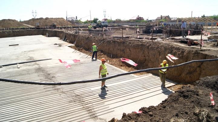 В Аксае началось строительство пятой в городе школы