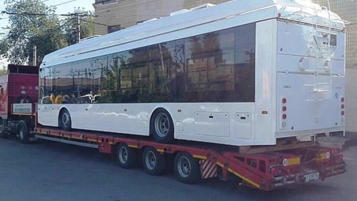 В Волгограде тестируют новый троллейбус с автономным ходом