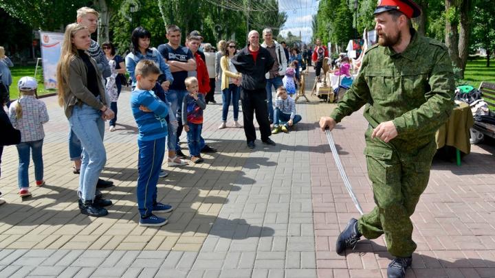 Волгоград отметил День России: 20 ярких кадров с праздника