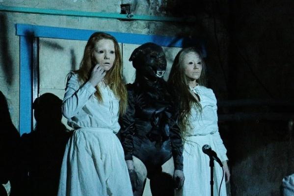 Хоррор-спектакль показывают в подвале