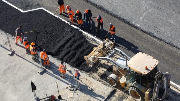 Строительство моста через Ахтубу завершится к концу года