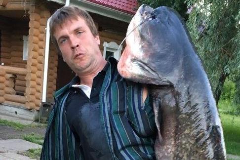 Под Тольятти поймали 50-килограммового сома