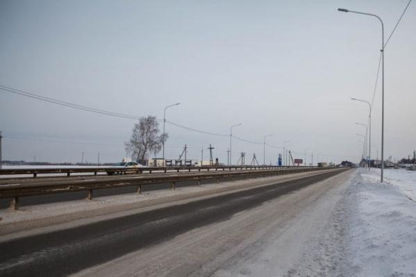 Аварии произошли на федеральных трассах Екатеринбург — Тюмень и Тюмень — Ханты-Мансийск