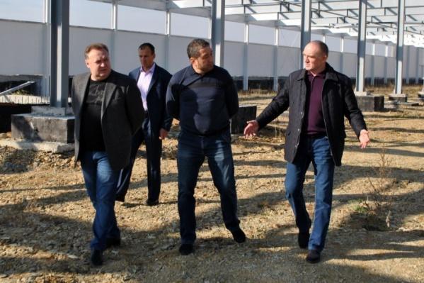 Борис Дубровский посетил площадку компании «БИОника» в Еткульском районе