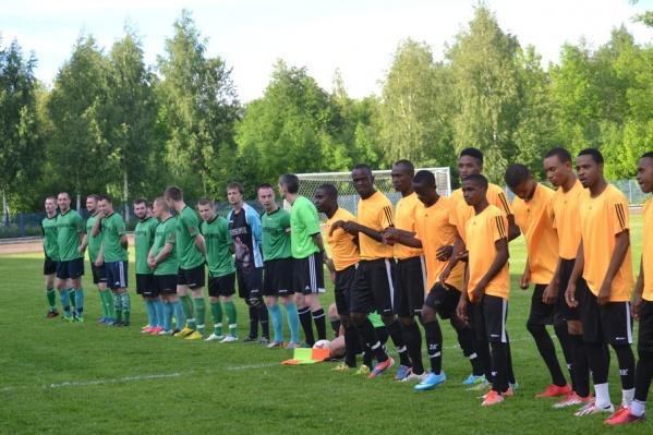 В Рыбинске впервые прошел международный матч по футболу