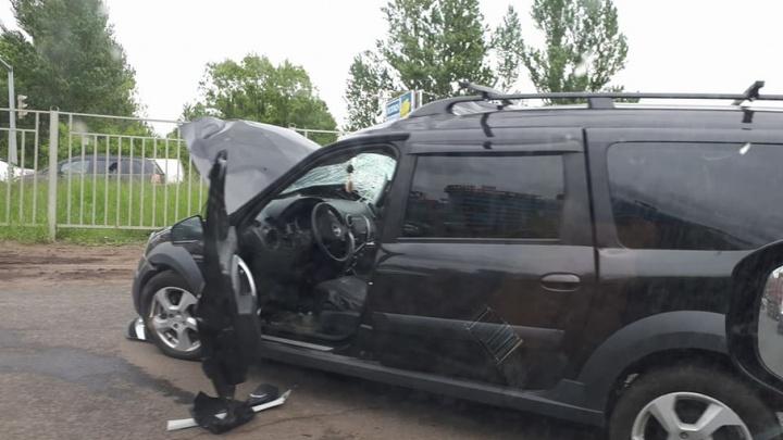 Появилось видео смертельной аварии с КАМАЗом: водитель легковушки грубо нарушил ПДД
