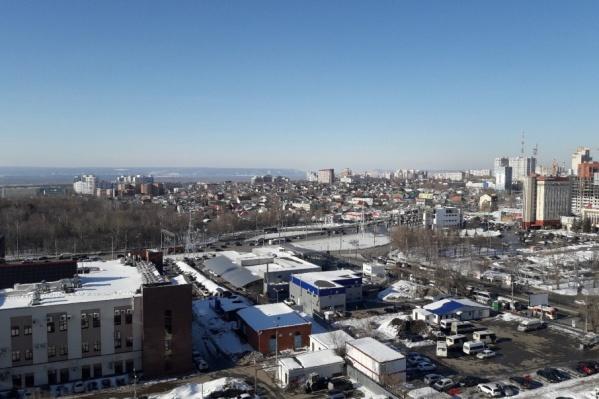 Сейчас между Московским шоссе и Ново-Садовой располагается частный сектор