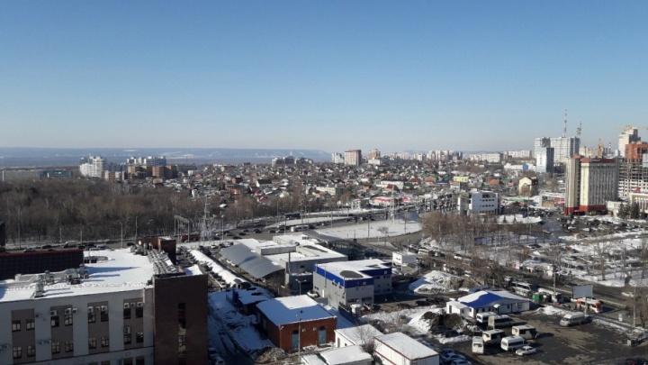 В Самаре улицу Авроры хотят продлить до Ново-Садовой
