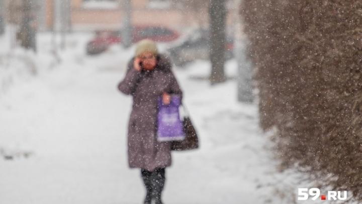 Будет метель и гололед: МЧС предупредило об ухудшении погоды в Прикамье