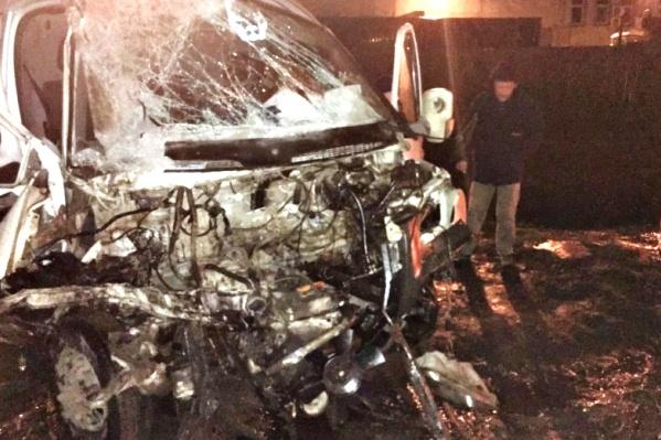 Водитель «Газели» попал в больницу