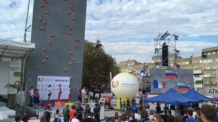 За 7,32 секунды: тюменка установила новый рекорд на состязаниях по скалолазанию