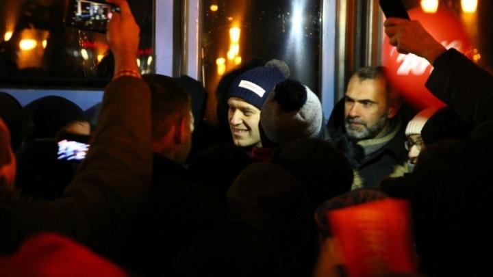 «Я посажу всех коррупционеров»: в Самаре прошел несанкционированный митинг Навального