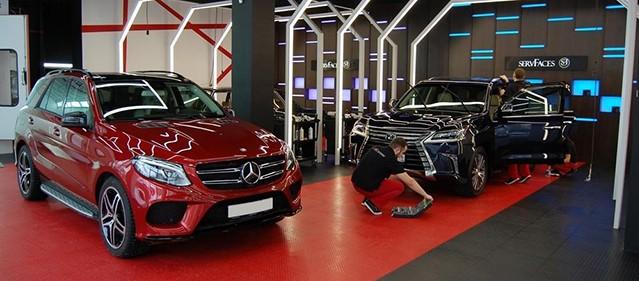 Автовладельцы уже протестировали немецкие защитные покрытия servFaces