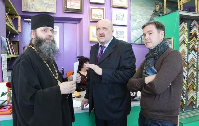 Благотворительная выставка в поддержку старинного каргопольского монастыря проходит в Архангельске