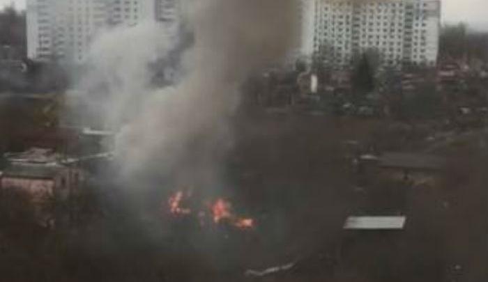 В пожаре на Извилистой пострадала ростовчанка