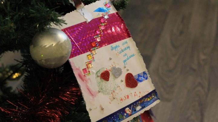 Тюменцы могут осуществить мечты 200 особых детей, подарив им кукол, машинки и роботов к Новому году