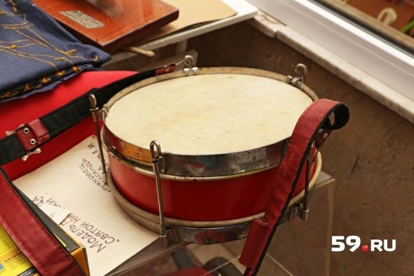 Барабан – один из символов пионерии