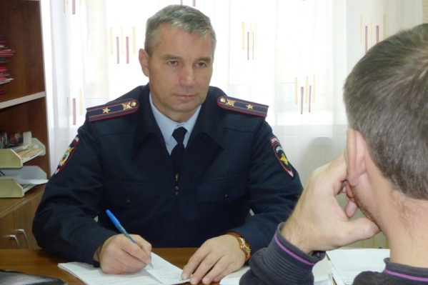 На фото – «народный участковый» прошлого года Сергей Цыганов из Соликамска