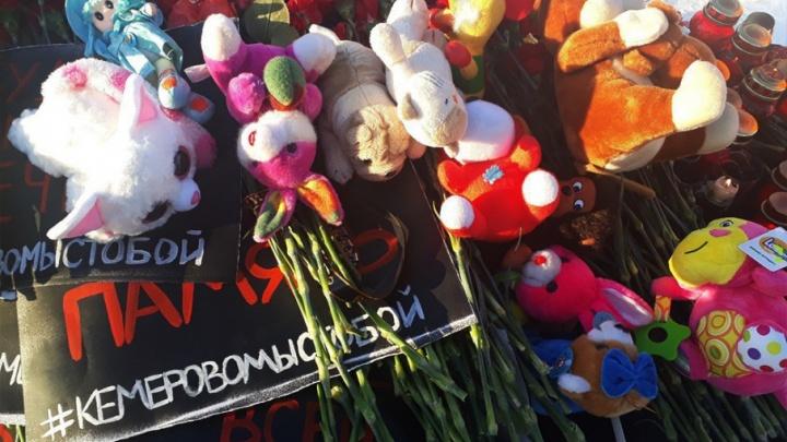 «То, что случилось, — вина ужасной системы»: в Архангельске почтили память погибших в «Зимней вишне»