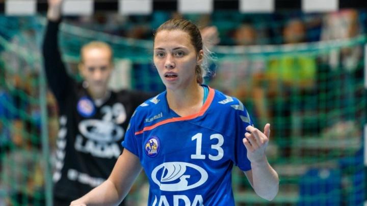Гандбольная «Лада» одержала победу над датским «Кебенхавн»