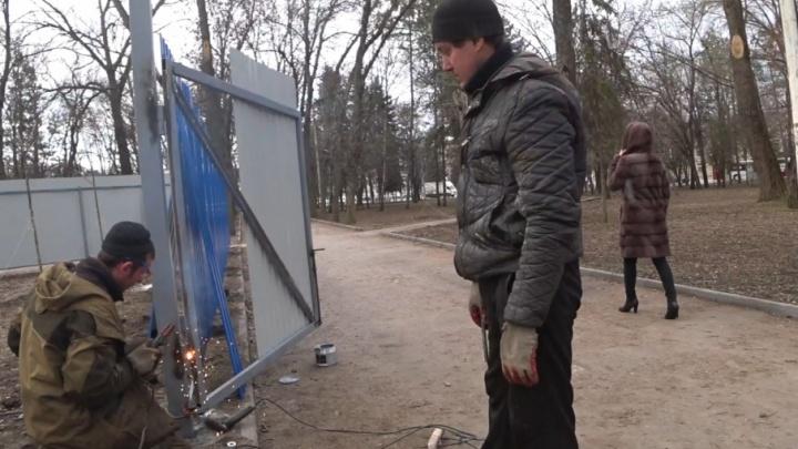 Городские власти запретили строить храм в ростовском сквере «Электроаппарат»