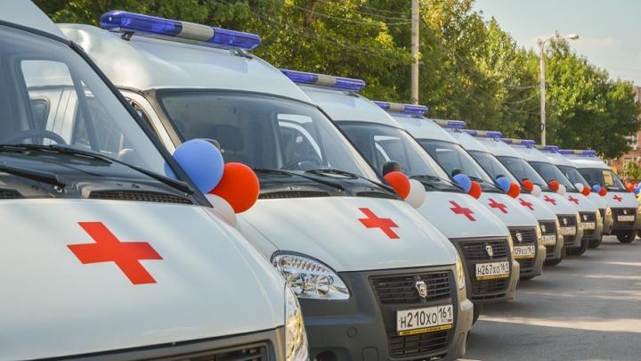 Пьяный ростовчанин разбил новую машину скорой помощи