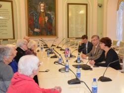 Глава Перми Игорь Сапко встретился с делегацией из Оксфорда