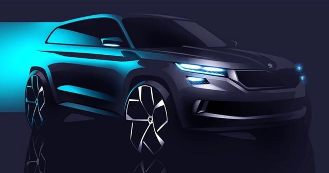 На Женевском автосалоне SKODA презентует концепт нового SUV