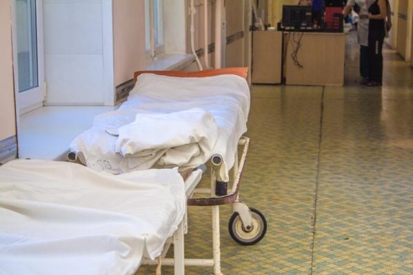 Инцидент произошел в больнице на улице Калинина
