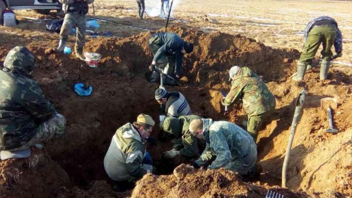 Под Смоленском обнаружены останки солдата из Прикамья