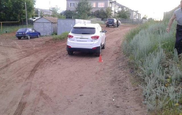 В Самарской области начинающий водитель на Hyundai сбил девятилетнего мальчика