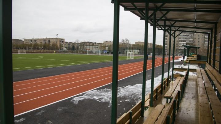 «Вырастим своих Бекхэмов»: в Челябинске появился новый спортивный стадион