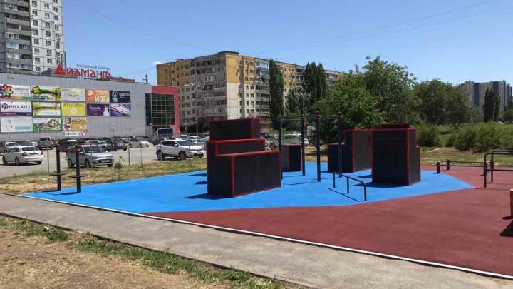 В Волгограде 25 июля откроют площадку для паркура