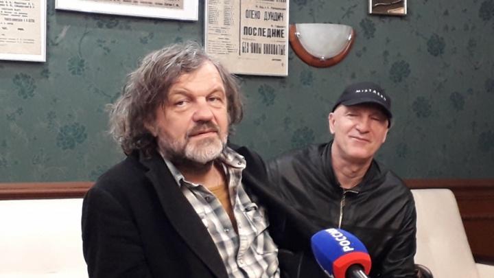 «Я хотел бы сделать фильм о России»: известный кинорежиссер Эмир Кустурица посетил Архангельск