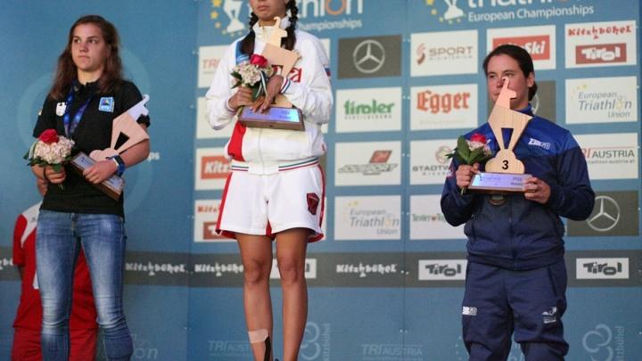 Тюменская спортсменка Анна Плотникова стала чемпионкой Европы по паратриатлону