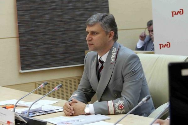 Председатель правления РЖД Олег Белозеров традиционно награждает победителей конкурса
