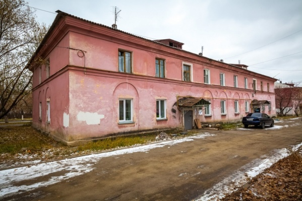Дом на Новороссийской построен в 1948 году