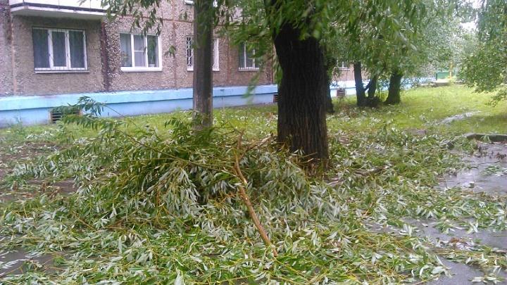 На Южный Урал надвигаются грозы и сильный ветер
