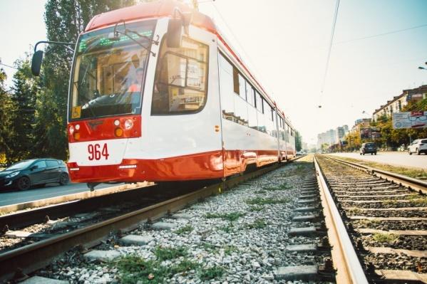 Скоростной маршрут трамваев будет пролегать через проспект Ленина и Ново-Садовую