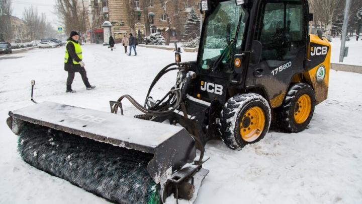 Волгоград встретит февраль теплой и снежной погодой